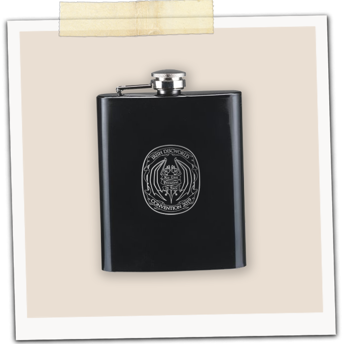 IDWCon 2019 Hipflask