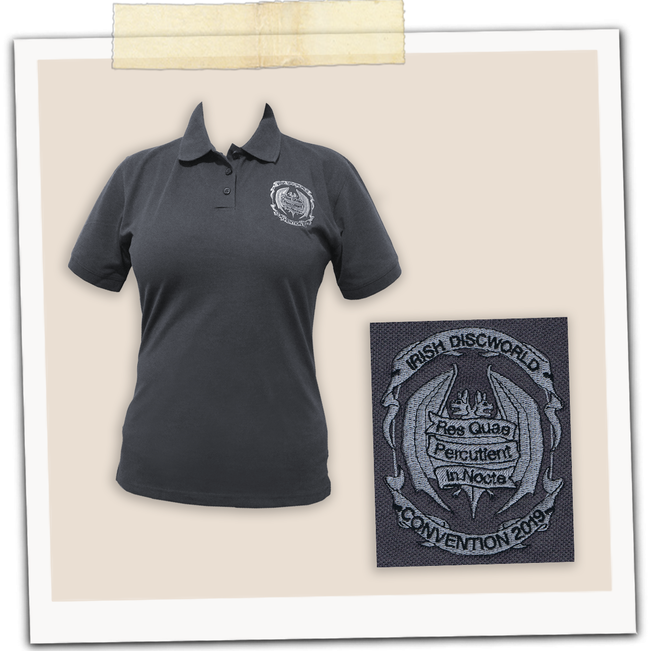 IDWCon 2019 Polo Shirt (Ladies' Fit)