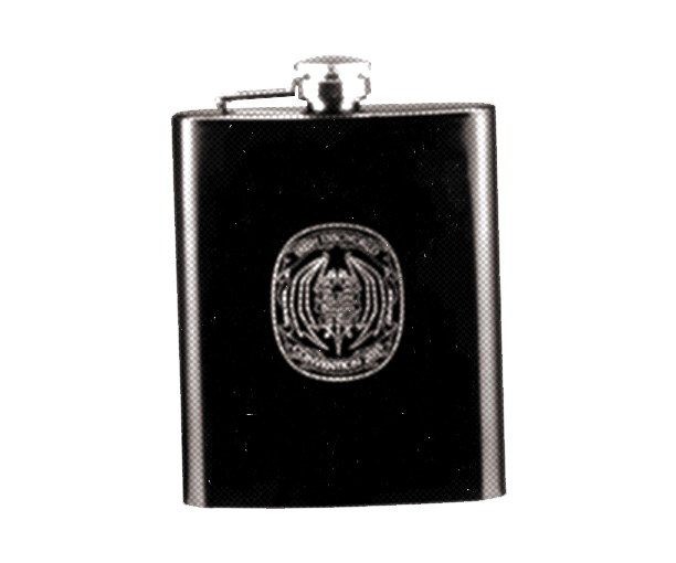 2019 IDWCon Hipflask